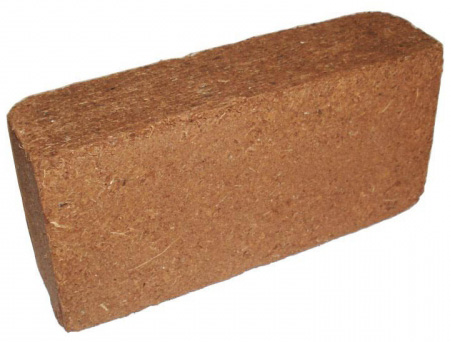 Compressed Coconut Coir Brick
