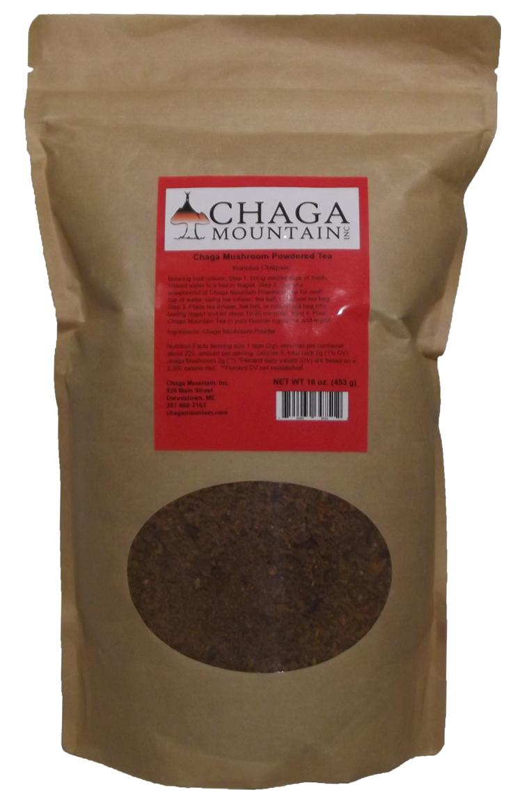 Ground Chaga Tea 1 LB