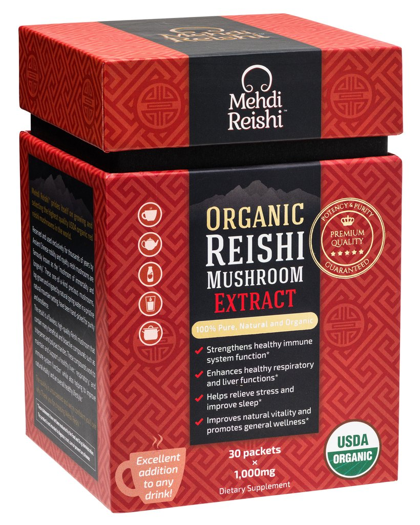 Reishi (Ganoderma lucidum) - Click Image to Close