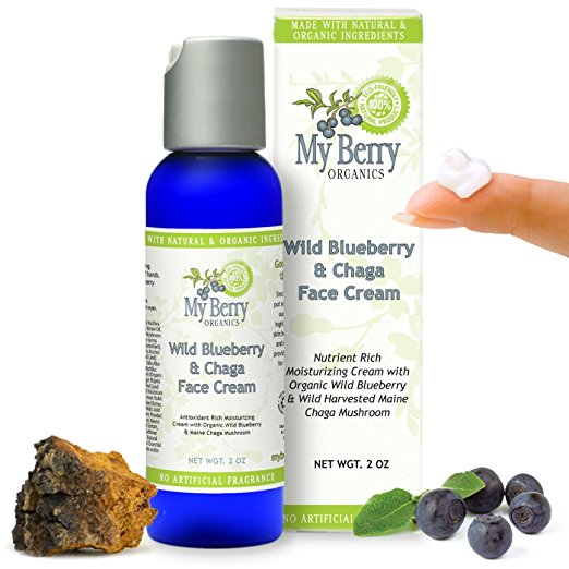 Wild Blueberry & Chaga Face Cream, 2oz