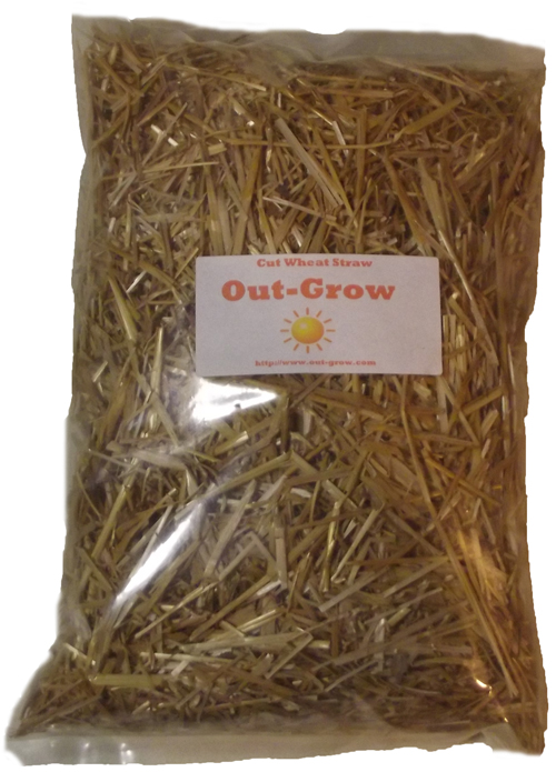 Cut Wheat Straw (8 quarts)
